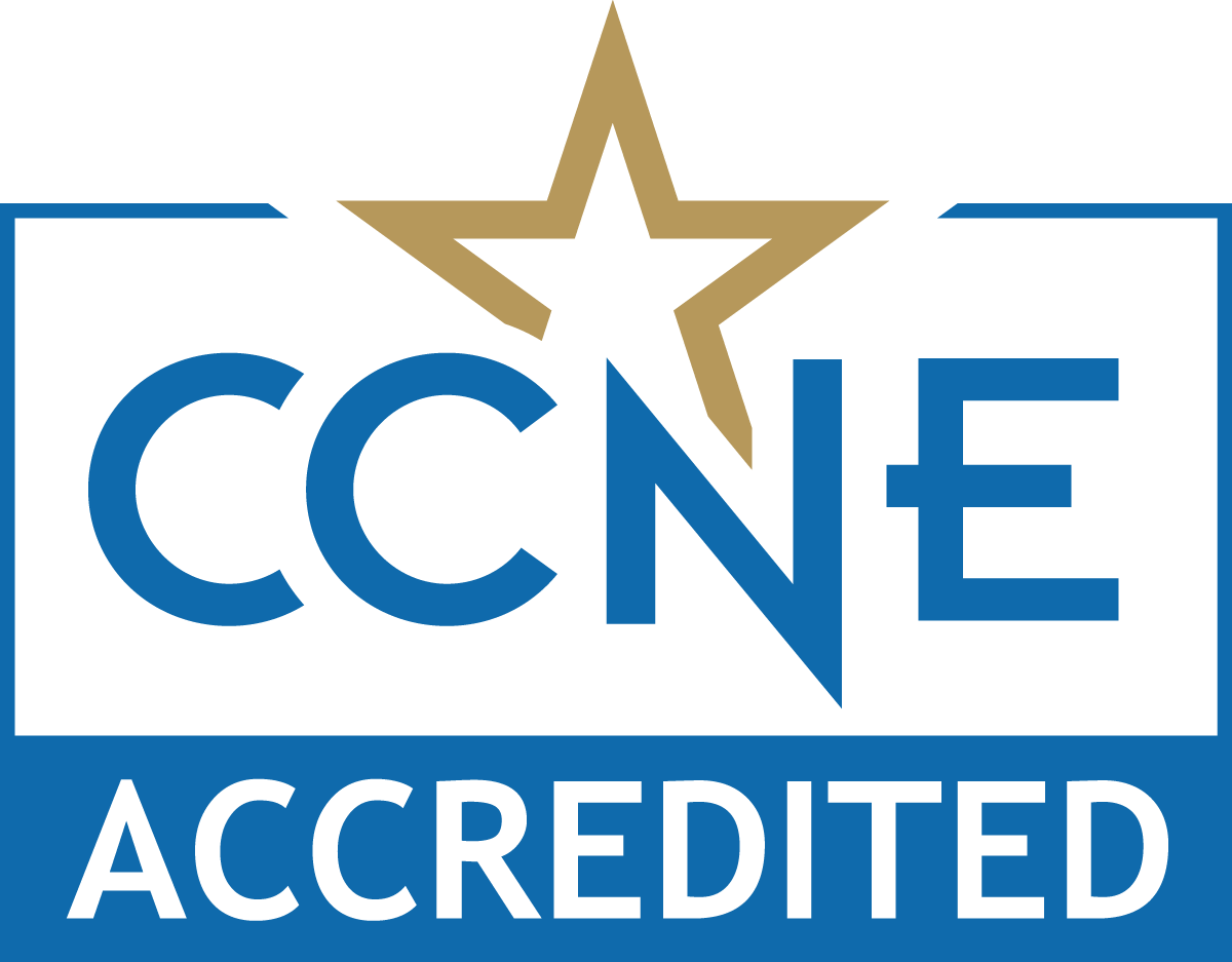 This program is CCNE Accredited