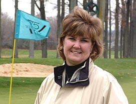 Marie Thorne, turfgrass management