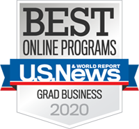 Badge Online Programs Grad Business