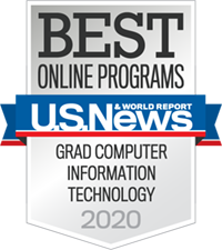 Badge Online Programs Grad IT