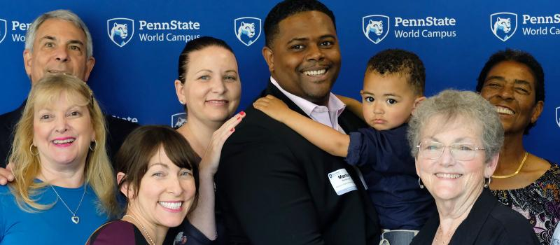 Penn State World Campus Student and Family