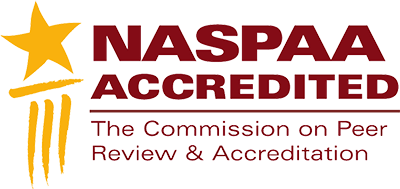 NASPAA Accredited seal